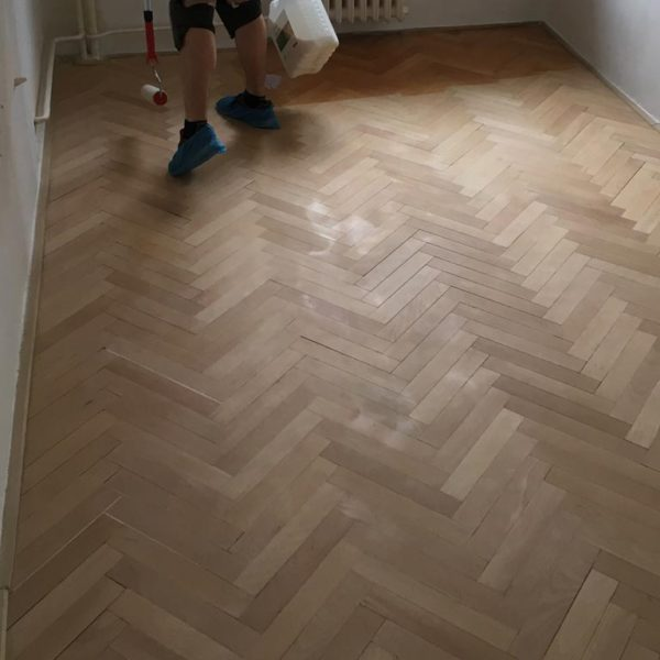 Renovace parket, Praha 4