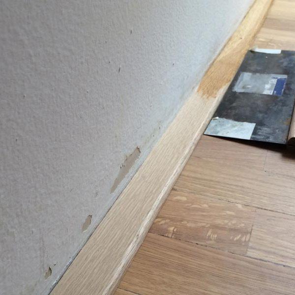 Broušení a olejovaní masivní podlahy