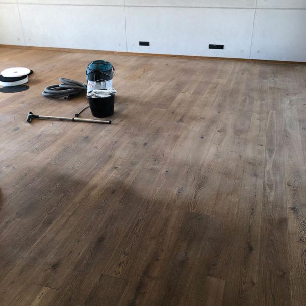 Olejovaní masivní dřevěné podlahy