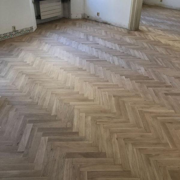 Renovace podlah z parket
